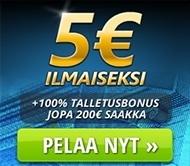 NettiArpa 5 euroa