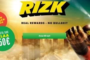 rizk bonus ja kokemukset
