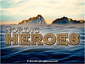 Nauti Nordic Heroes- nettislotin maailmasta