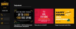 Shadowbet casino bonukset ja ilmaiskierrokset ilman talletusta