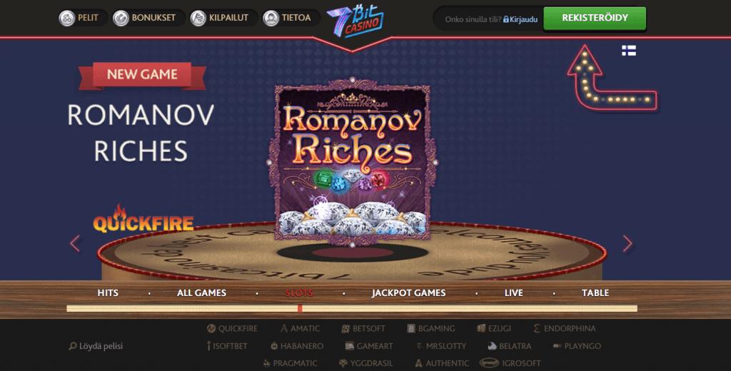 7Bit Casino kokemuksia