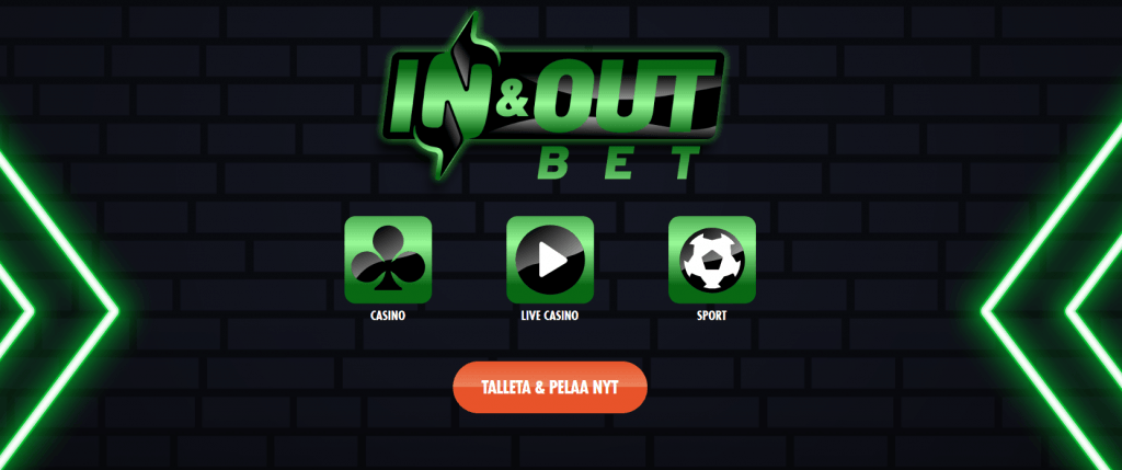 Kokemuksia In & Out Bet Pay n Play Kasinosta