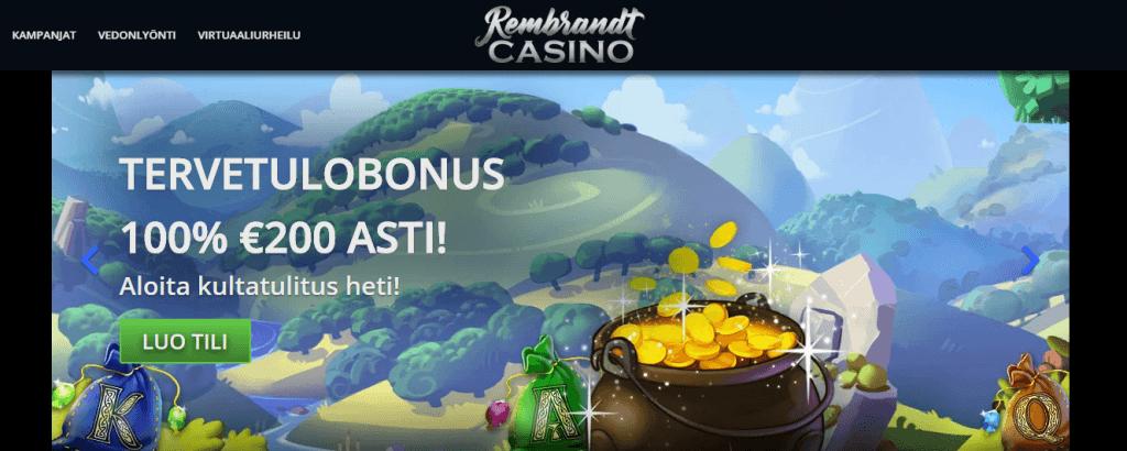Rembrandt casino kokemuksia