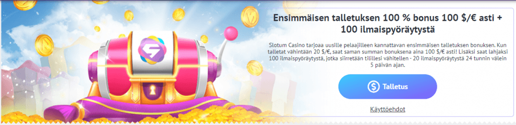 Slotum Bonus