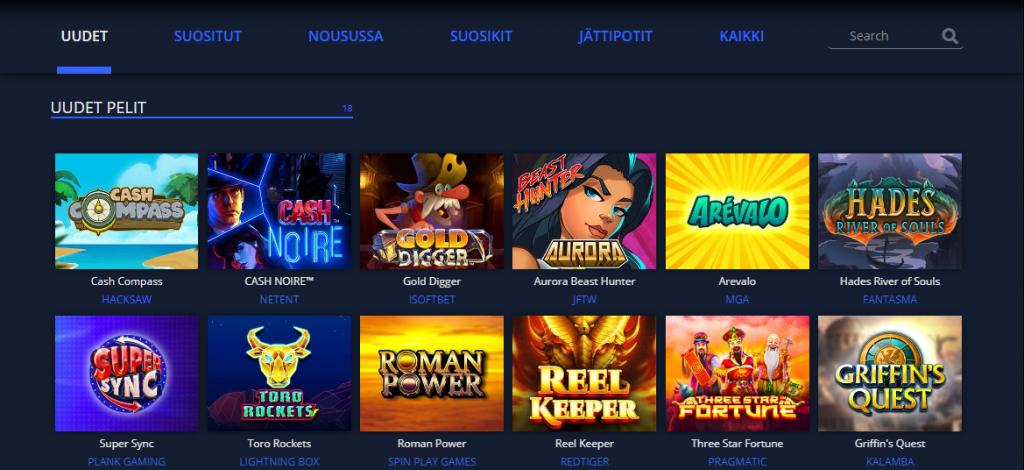 Rembrand Casino kokemuksia peleistä