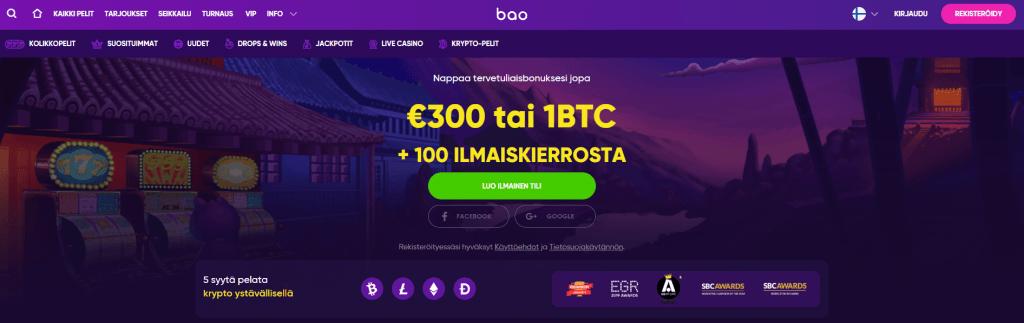 Bao Casino Kokemuksia