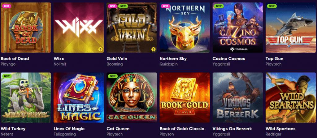 Casinopelit Bao nettikasinolla