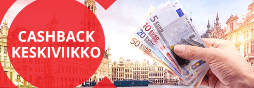 bCasino Cashback Bonus Keskiviikkoisin