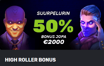 Highroller Bonus Betamo Casinolla
