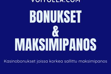 Casino Bonukset Ilman Maksimipanosta