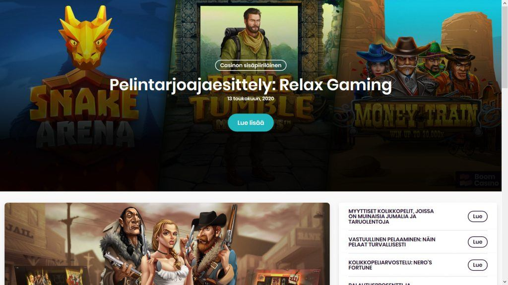 Boom Casino Kokemuksia