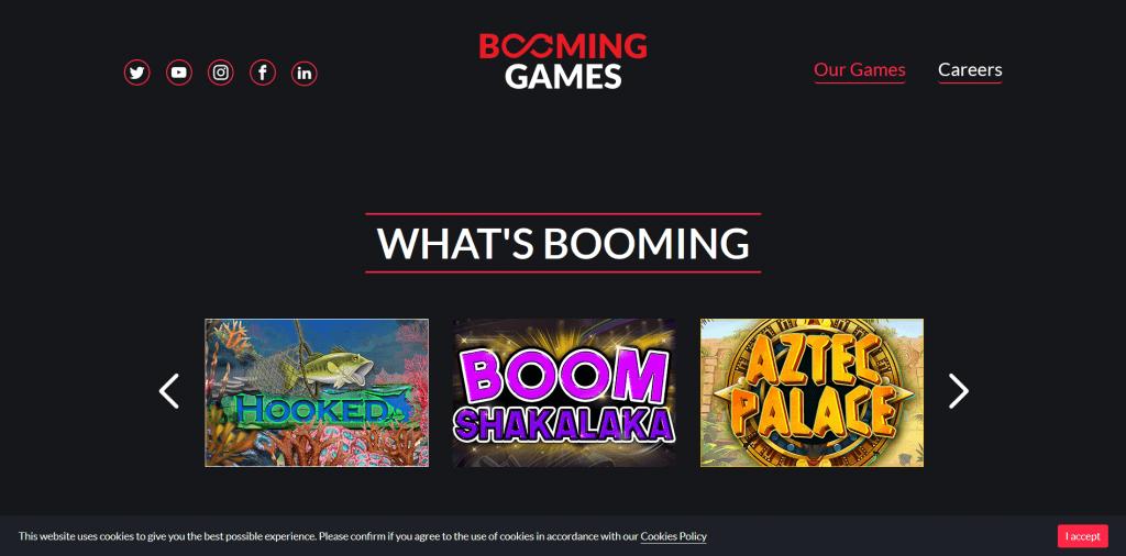 Booming Games Pelit & Bonukset