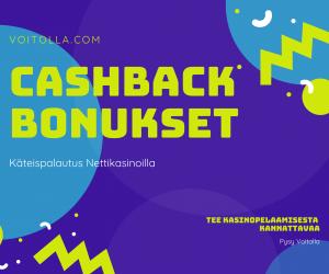 Cashback Bonukset Nettikasinoilla