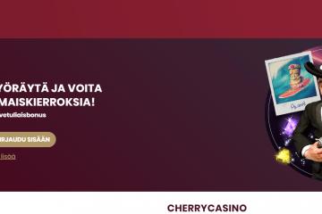 Tsekkaa uutuudet Cherry Casinolla!
