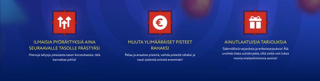 VIP Ohjelman Palkinnot