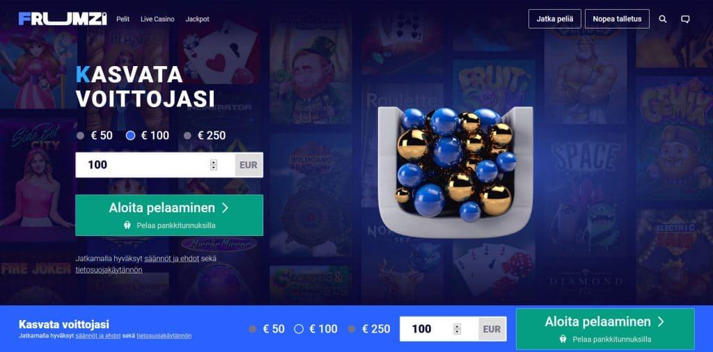 Frumzi Casino Kokemuksia