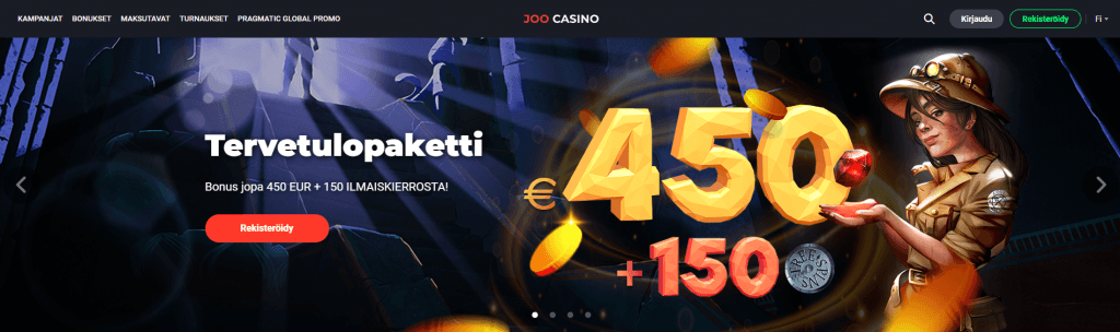 Joo Casino Kokemuksia