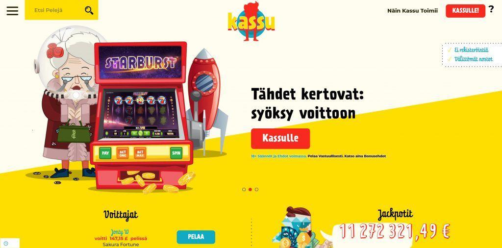 Kassu Casino Ilman Rekisteröintiä