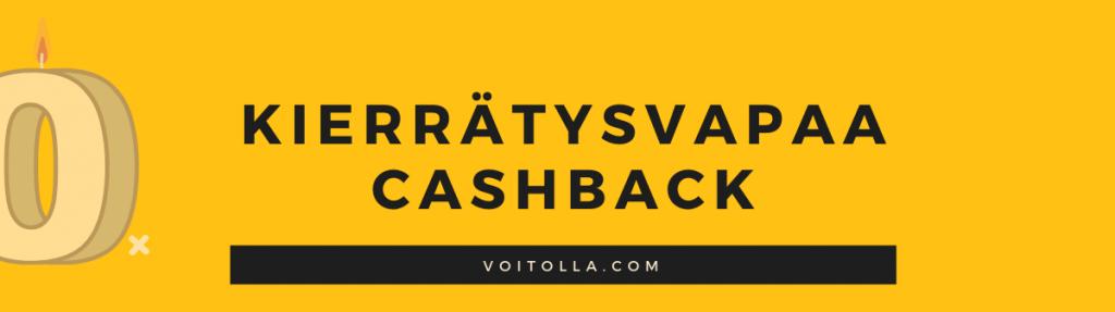 Kierrätysvapaa Cashback Bonus
