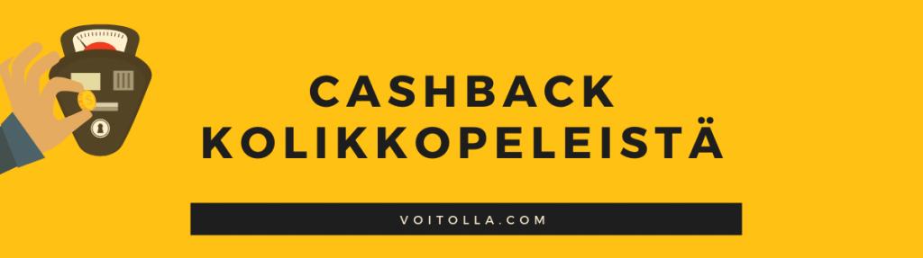Cashback sloteista ja kolikkopeleistä