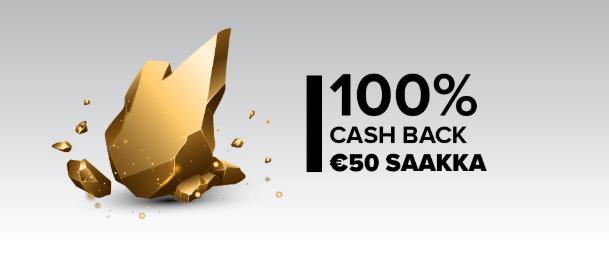 100% cashback bonus legolasbet casinolla