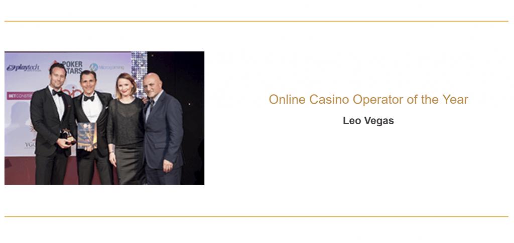 LeoVegas on voittanut paljon casino alan palkintoja