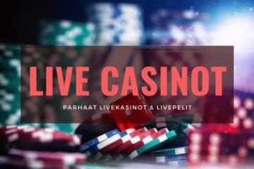 Parhaat Live Casinot 2020