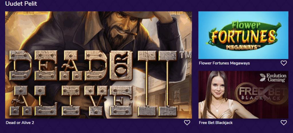 Livelounge tarjoaa kattavan valikoiman livepelejä sekä kolikkoslotteja