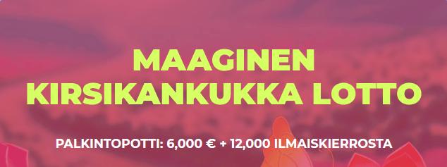 Maneki Casinon Lotto Arpajaiset