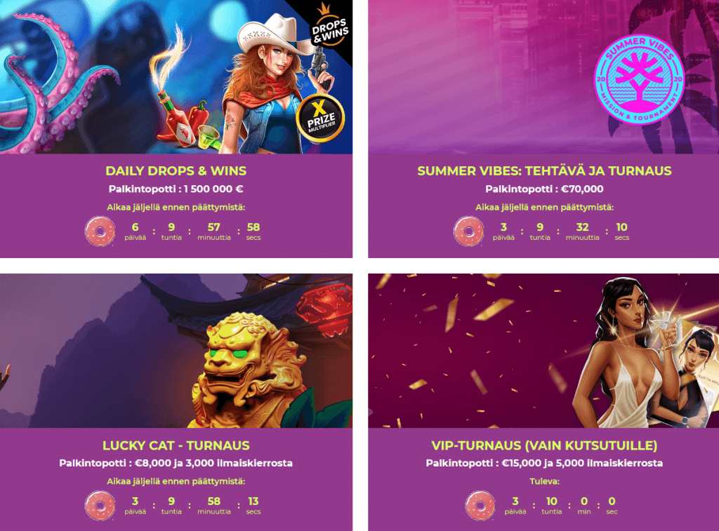 Maneki Casinon Turnaukset & Kampanjat