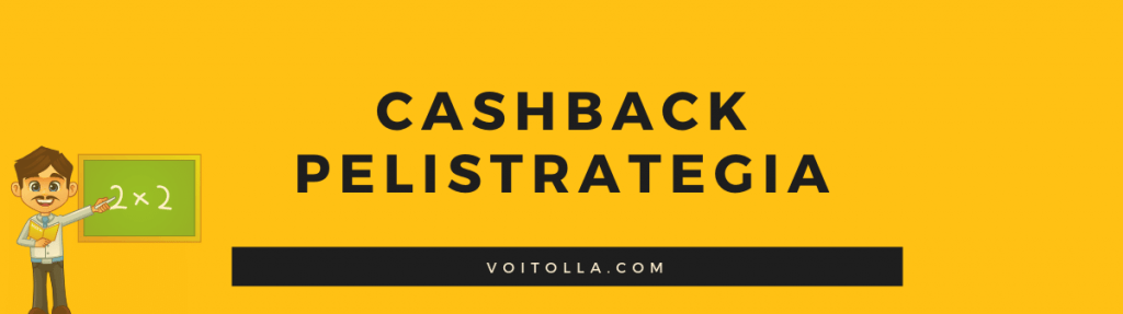 Optimaalinen Pelistrategia Cashback Bonuksiin