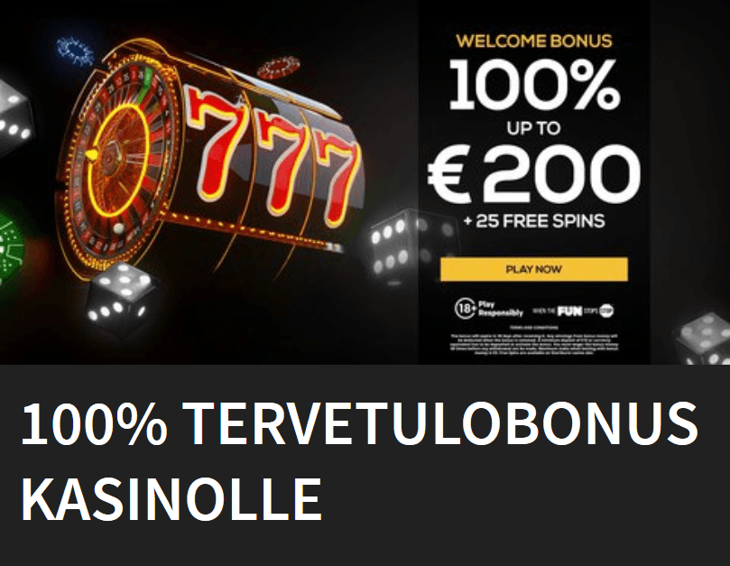 PWR bet casinon ensitalletus bonus aina 200 euroon asti