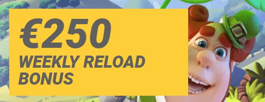250e reload bonus