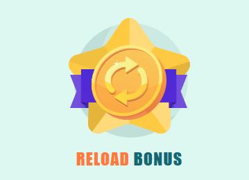 Spinia Reload Bonus