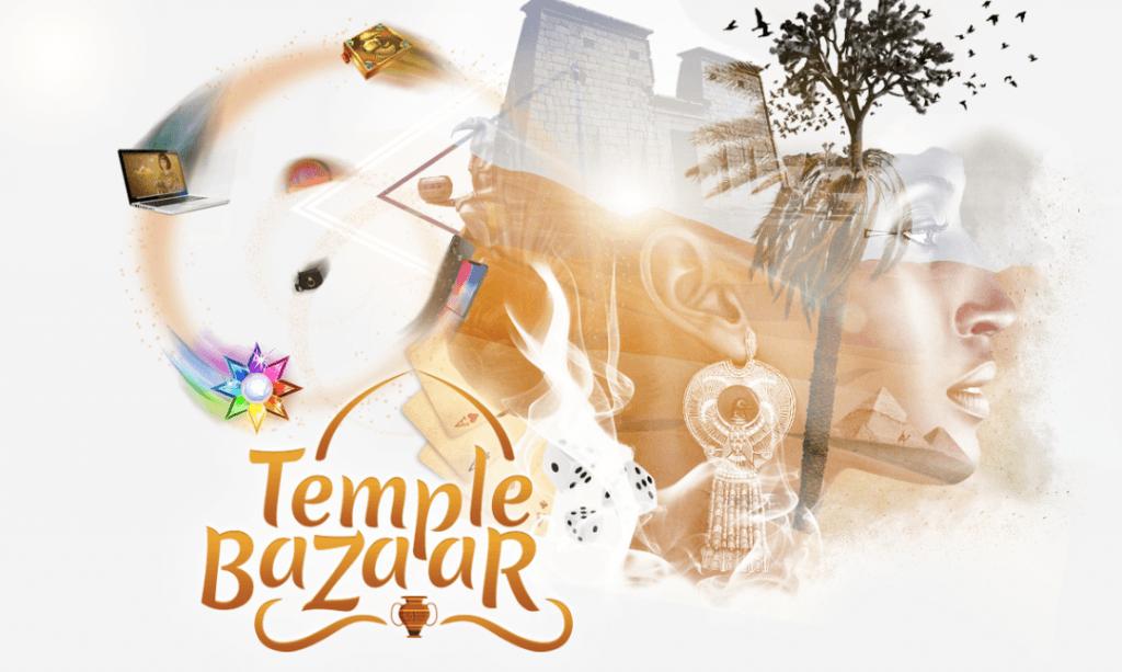 Temple Nilen Bazaarissa vaihdat bonuspisteet arvotavaroihin