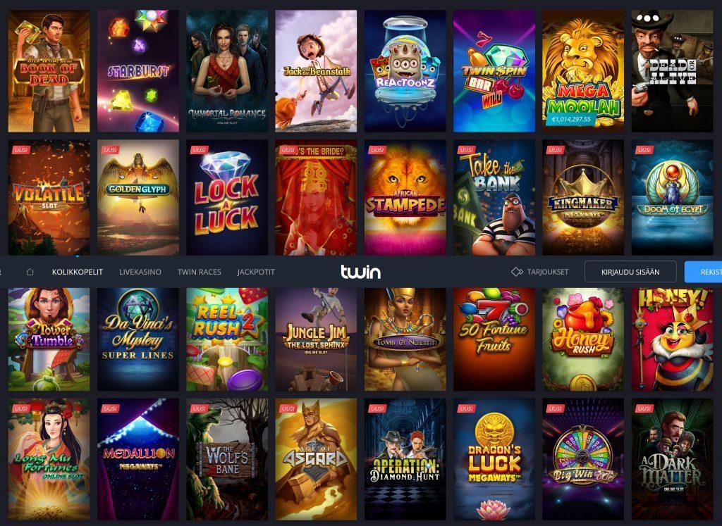 Twin Casino Pelit