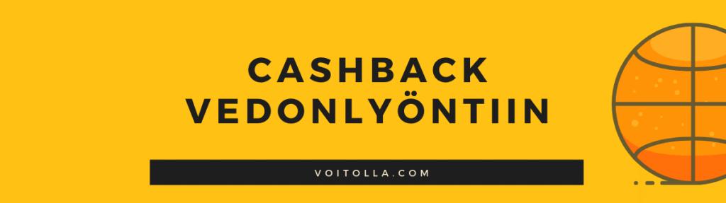 Riskitön veto on vedonlyönnin cashback