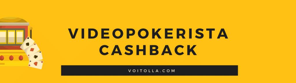 Videopokerin Cashback