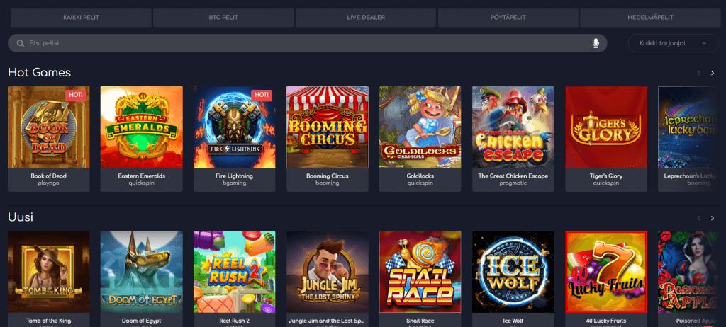 Wild Tornado casinopelit