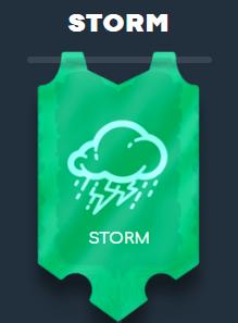 Wild Tornado VIP klubi - Taso 1 / Storm