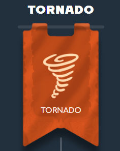 Wild Tornado VIP klubi - Taso 1 / Tornado