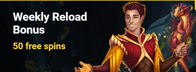 Reload bonus viikottain